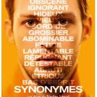 Projection du film Synonymes - Lundi 4 novembre 18:30-21:00