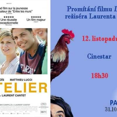 Projection du film L'atelier, de Laurent Cantet - Lundi 12 novembre 2018 18:30-20:30