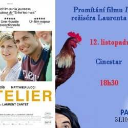 Projection du film L'atelier, de Laurent Cantet - Lundi 12 novembre 18:30-20:30