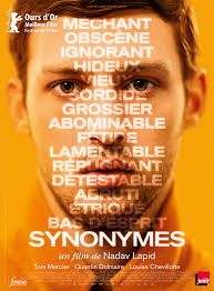 Projection du film Synonymes
