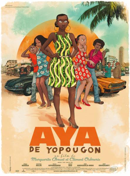 Projection du film Aya de Yopougon